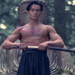 Mark Dacascos playing Yo in Crying Freeman