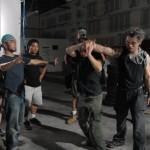 David co ordinating fight choreography...