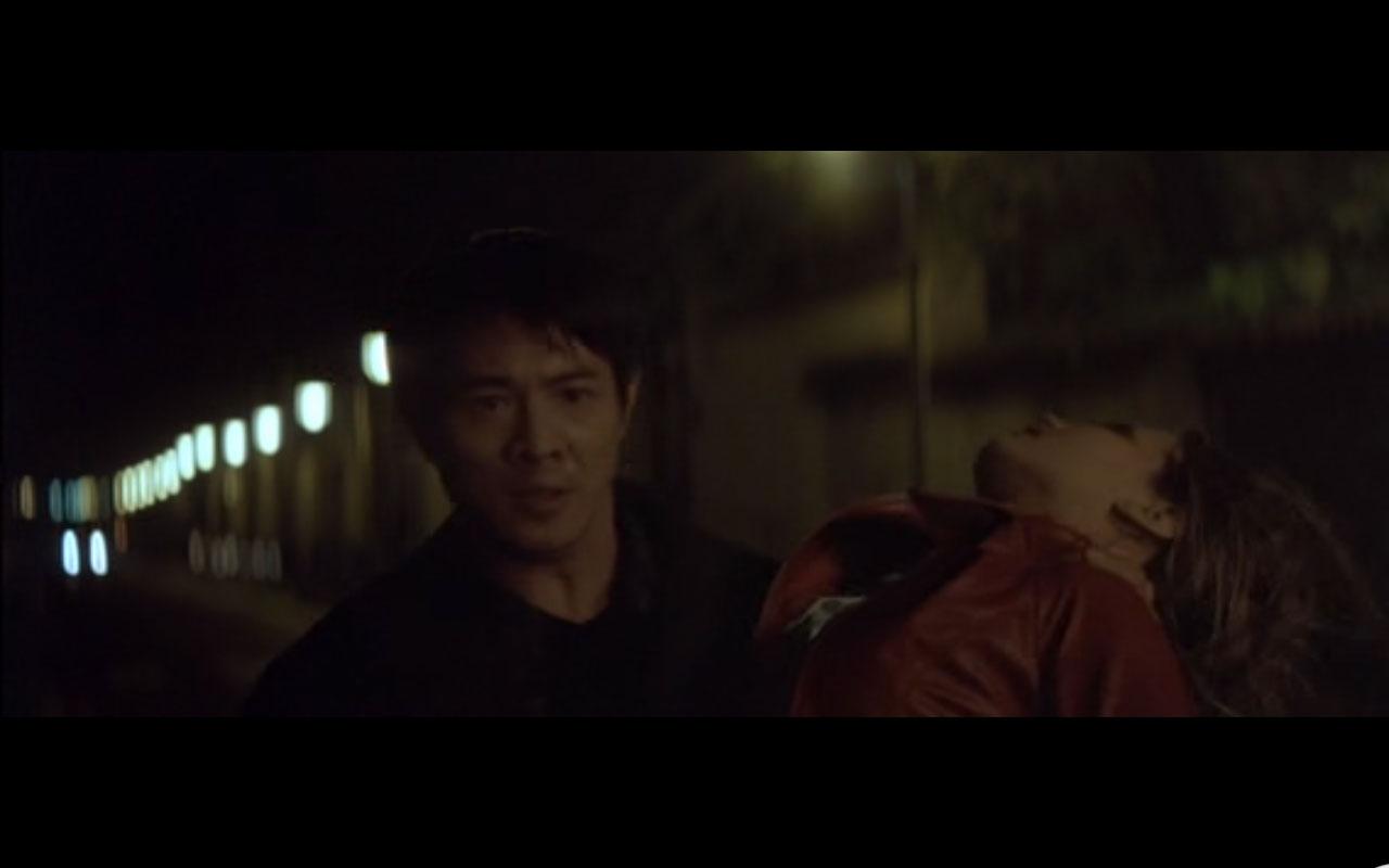Liu with his damsel in distress