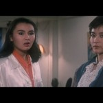 Maggie Cheung left and Brigitte Lin..