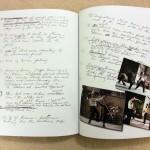 Bruces extensive handwritten notes..