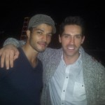 Jawed El Berni and Scott Adkins