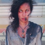 Lauren plays zombie in World War Z
