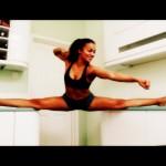 Laurens elastic leg homage to Van Damme
