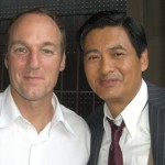 With Chow Yun Fat
