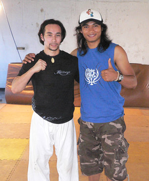 Tim Man with Tony Jaa