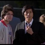 Karate champ actor Keith Vitali with Sho Kosugi