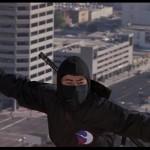 Ninja fu on the roof