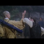 San Ta and Lord Tang duel in the cemetary