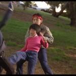 Son of a Ninja Kid Kosugi dispatches the school bullies