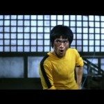 Bruce Lee having fun