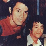 Carter Wong with Bruce Lee (old pic)