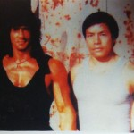 Carter with Rambo-Sylvester Stallone