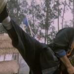 Even in his 50s John Liu still had incredible kicking skills