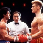 Facing off with Stallone in Rocky IV