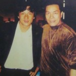 Jackie Chan and Carter Wong