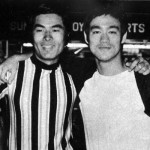 Yasuaki with Bruce Lee