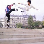 Zen Kwan Do Strikes in Paris with a flying sidekick