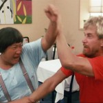 A bit of wing chun thrown in the mix