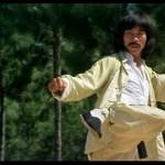 Hwang as Thunderleg in Drunken Master