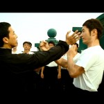 Ip Man is always willing to demonstrate.