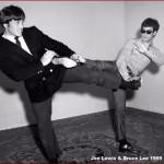 Joe Lewis with Bruce Lee