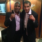 Kash The Flash with Evander Holyfield friendly
