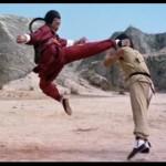 Master kicker Hwang Jang Lee in action