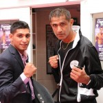 Two fists of legend Kash The Flash with Amir Khan
