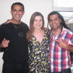 With Amanda Lamb and Apache Indian for CH4 show