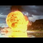 A stuntman in this scene mistimed his jump and was blown up for real
