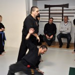At kenpo class