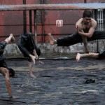 Boys just wanna have fun stunt practice on The Raid 2