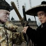 Gordon Liu and Jet Li Flying Swords