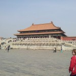 One of the six palaces of the Forbidden City in Beijing
