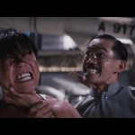 Yuen Wah tries to crush Yuen Biao by any means