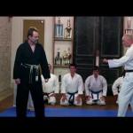 A little kumite in the dojo