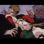 A powerful elbow strike from Cammy