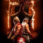 Assassins Fist official poster Master Gouken Ken and Ryu