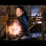Chun Li prepares to launch her Kikoken