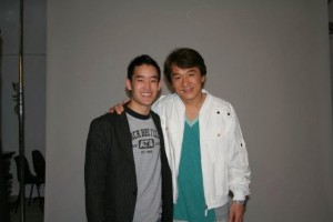 Mike Moh and Jackie Chan