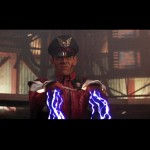 Raul Julia gives an electrifying performance as M. Bison