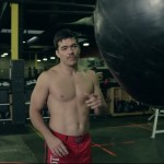 Time for a little speed bag training with MMA pro Lyoto Machida