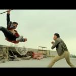 A flawless tornado kick by Sunny