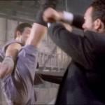 Billy Chow drops a devastating axe kick