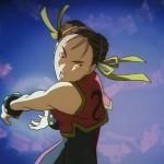 Chun Li launches her mighty Kikoken