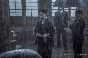 Hyunri in a downpour - SFAF