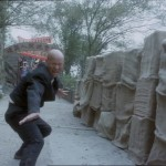 Ji Chinhua plays a master of Iron Head Kung Fu