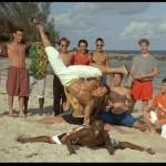 Louis field trip on beach