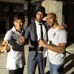 Marrese right with Rza and Tony Jaa